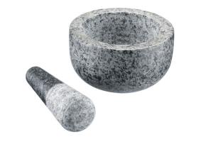 Mortier + pilon Westmark diamètre 13 cm en granit