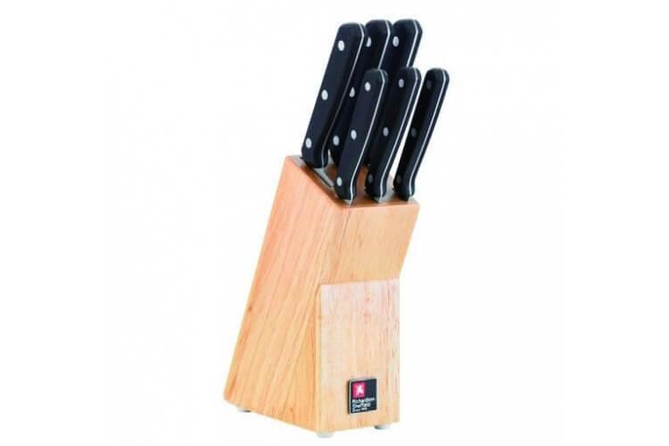 """Bloc de 6 couteaux acier inox Richardson """"Cucina"""""""