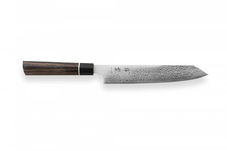 Couteau universel japonais Kanetsugu Zuiun acier SPG2 damas 15cm