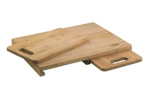 Planche à découper Richardson 3 pièces en bambou 40 x 30 x 4cm