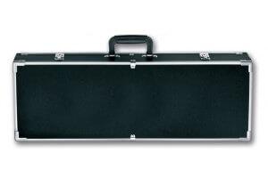 Valise vide avec mousses alvéolées pour couteaux de cuisine