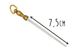 Fusil bijou Fischer 7,5cm grain fin