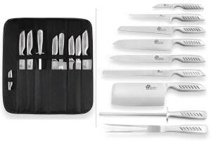 Valise de 9 couteaux Pradel Excellence acier tout inox