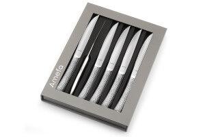 Coffret 6 couteaux à steak Amefa Bongo XL tout inox