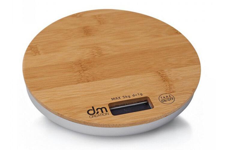 Balance de cuisine en bambou DM Creation