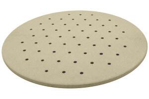 Pierre à pizza Cookut Crispiz en pierre réfractaire pour four et barbecue 38cm