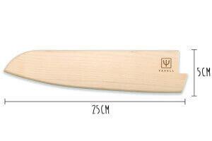 Etui Yaxell pour couteau de cuisine 25cm - Bois d'érable