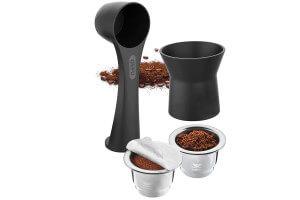 Kit pour capsules de café réutilisables Gefu Conscio