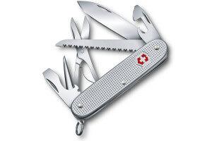 Couteau suisse Victorinox 6 pièces 93mm Farmer X Alox 10 fonctions