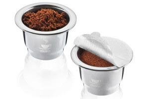 2 capsules à café pour kit de capsules Gefu Conscio
