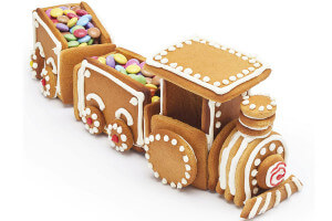 Kit pâtisserie train 3D Kitchen Craft 7 pièces
