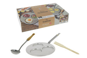 Coffret brunch De Buyer Brunchtime 3 pièces