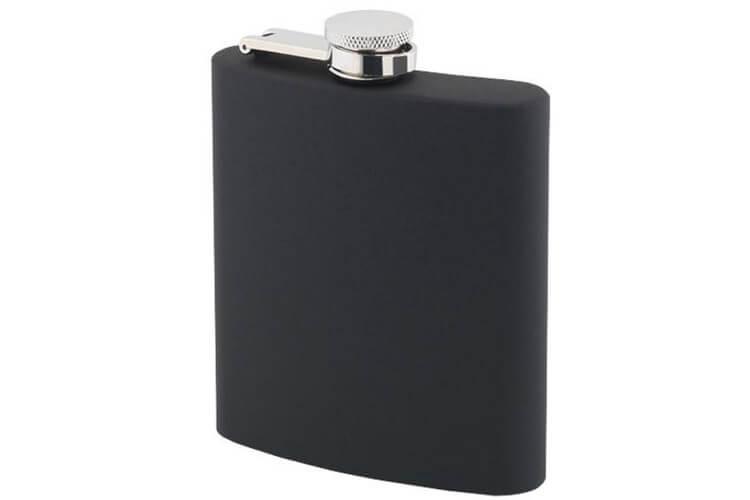 Flasque inox Keen Sport 180 ml soft touch noir