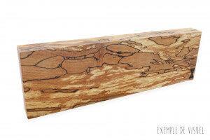 Barre aimantée artisanale Essences Creations 30cm en hêtre et résine - 3 places