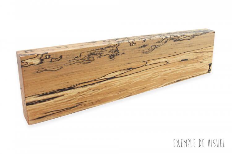 Barre aimantée artisanale Essences Creations 45cm en hêtre et résine - 6 places