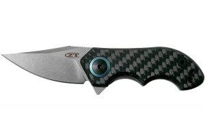 Couteau pliant Zero Tolerance ZT0022 manche carbone titanium 7,5cm
