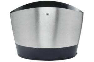 Pot à ustensiles en inox brossé OXO