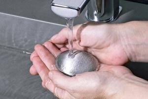 Savon d'acier anti odeur en inox brossé