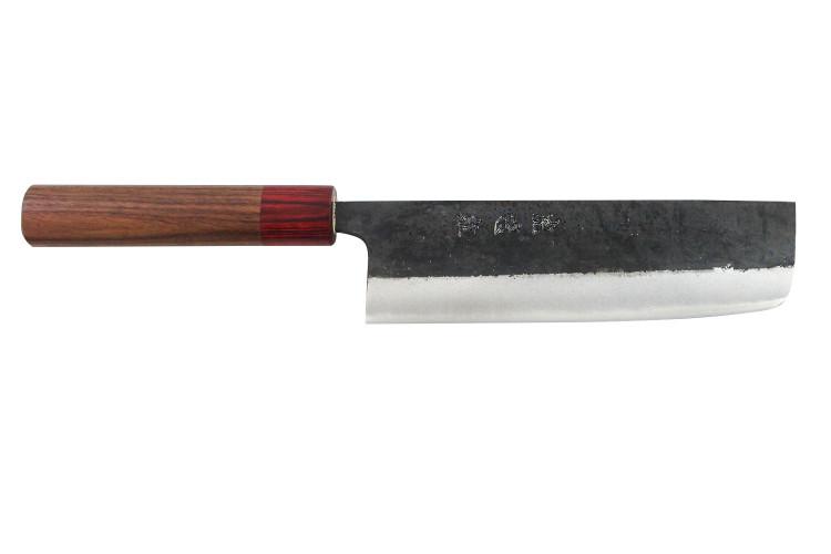 Couteau nakiri japonais artisanal Wusaki Yuzo WS2 17cm