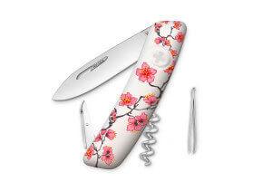 Couteau multifonction SWIZA D01 Edition limitée Florale 6 fonctions 95mm