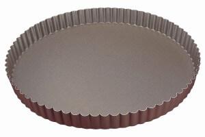 Tourtière ronde cannelée Gobel fond fixe - Diamètre 30cm