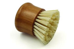 Brosse à vaisselle naturelle Cookut en bambou