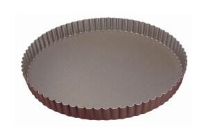 Tourtière ronde cannelée Gobel fond fixe - Diamètre 20cm