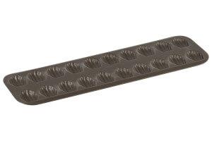 Plaque à madeleines Gobel bord roulé