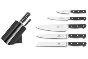 Bloc Sabatier International Arizona avec 5 couteaux Pluton