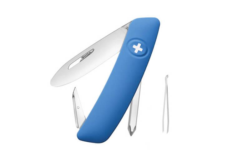 Couteau multifonction SWIZA J02 Junior bleu 6 fonctions