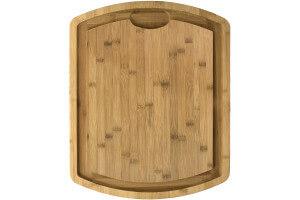Billot de boucher Totally Bamboo 50 x 40 x 2,5 cm