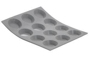 Moule De Buyer Elastomoule pour mini tartelettes rondes