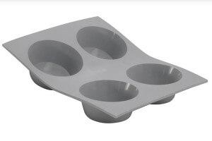 Moule en silicone De Buyer Elastomoule portions 4 ou 6 muffins