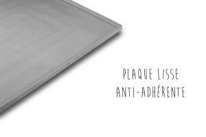 Plaque De Buyer Elastomoule en silicone lisse à rebord hauteur 10mm