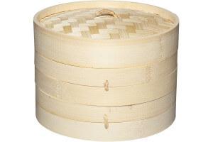 Cuiseur vapeur bambou Kitchen Craft 2 niveaux