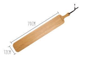 Planche à découper Dutchdeluxes XL STRIPE 12x70cm avec poignée
