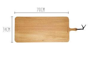 Planche à découper Dutchdeluxes XL 34x70cm avec poignée