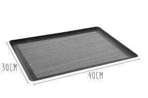 Plaque perforée anti-adhésive De Buyer en aluminium