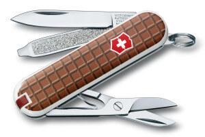 Couteau suisse Victorinox Classic tablette de chocolat 58mm 7 fonctions