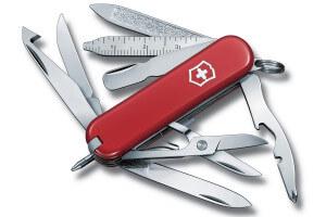 Couteau suisse Victorinox Minichamp rouge 58mm 18 fonctions