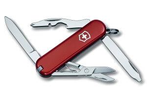 Couteau suisse Victorinox Rambler rouge 58mm 10 fonctions