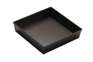 Moule à manqué carré Gobel anti-adhérent 22x22cm