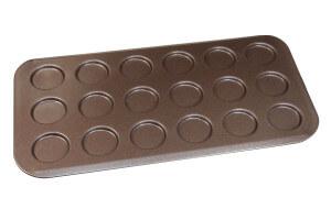 Plaque à pains 18 mini burgers Gobel anti-adhérent