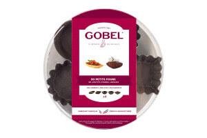 Boîte 30 petits-fours Gobel anti-adhérent - 5 formes