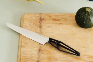 Couteau à trancher Mono SK59 acier inoxydable Sandvik 21cm manche polyamide