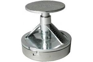 Presse-hamburger avec poussoir inox et fonte d'alu - Diamètre 10cm