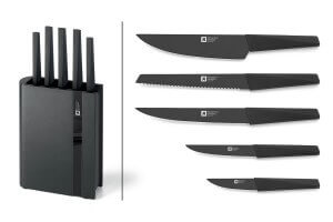 Bloc 5 couteaux de cuisine Richardson Edge reconditionné