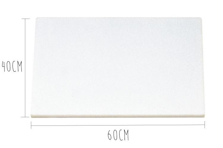 Planche à découper polyéthylène HD500 60x40cm avec fixations