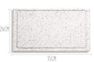 Planche de découpe DICK marbrée 35x26x2cm