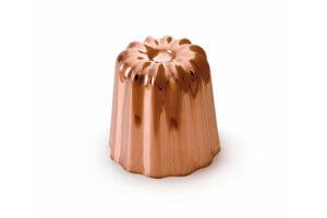 Moule à cannelé De Buyer en cuivre diamètre 55mm